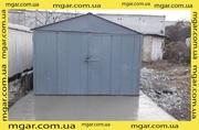 Продам металлический гараж. Толщина металла 2 мм. Состояние хорошее.